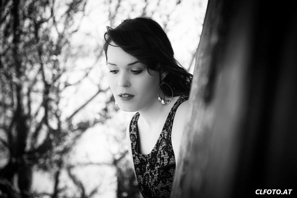 Portraitfoto mit intensiver Bildbearbeitung