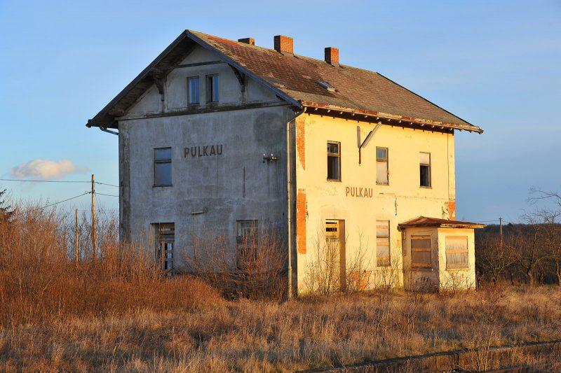 Lost Place: der alte Bahnhof von Pulkau