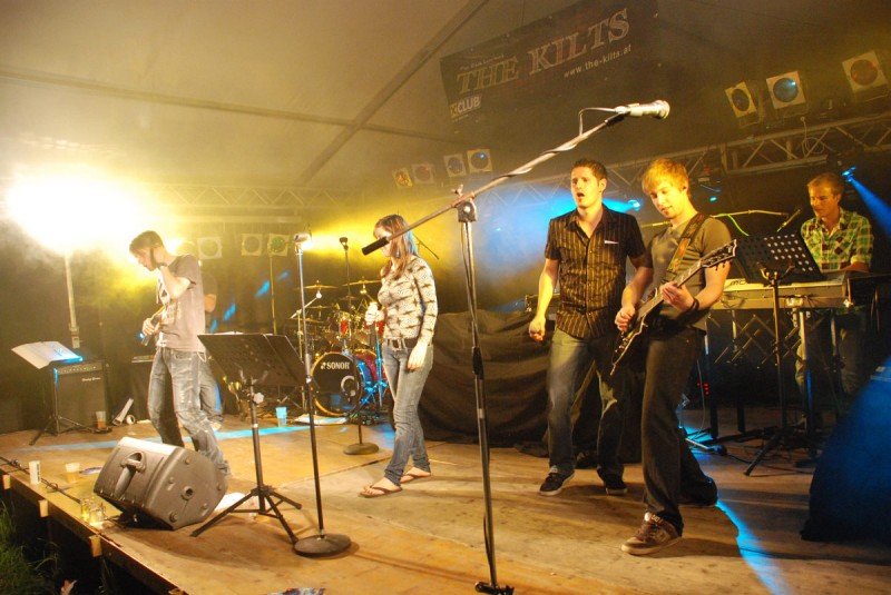 Coverband The Kilts @ Zigeunerfest Mitterkirchen