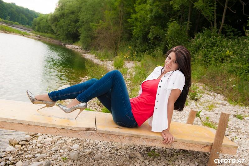 Fotoshooting mit Regina in Stadl-Paura