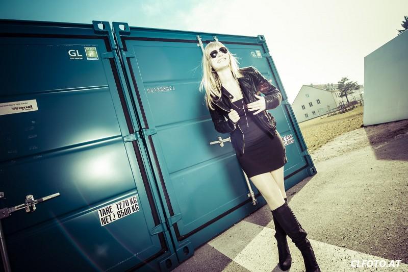 Fotoshooting mit Karola in Linz