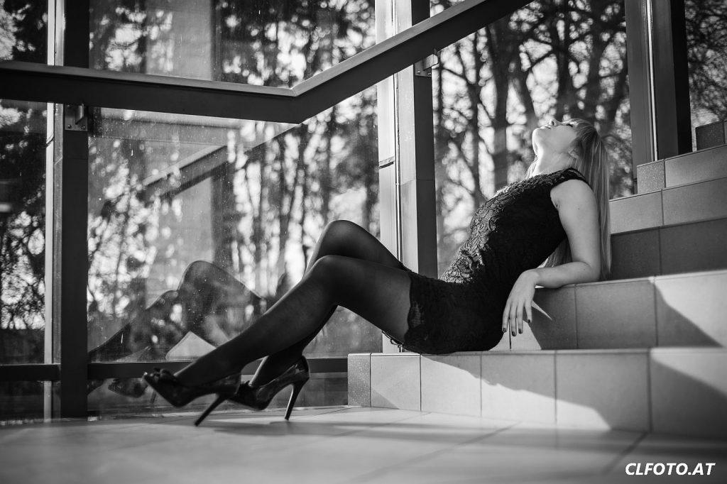 Fotograf in Linz Urfahr: Fotoshooting mit Karola