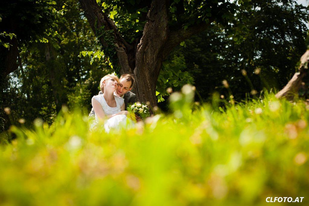 Aus einem Hochzeitsfotoshooting