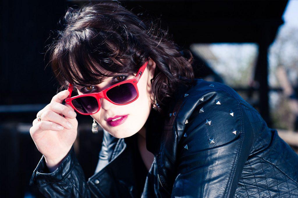 Fotoshooting mit Sonnenbrille