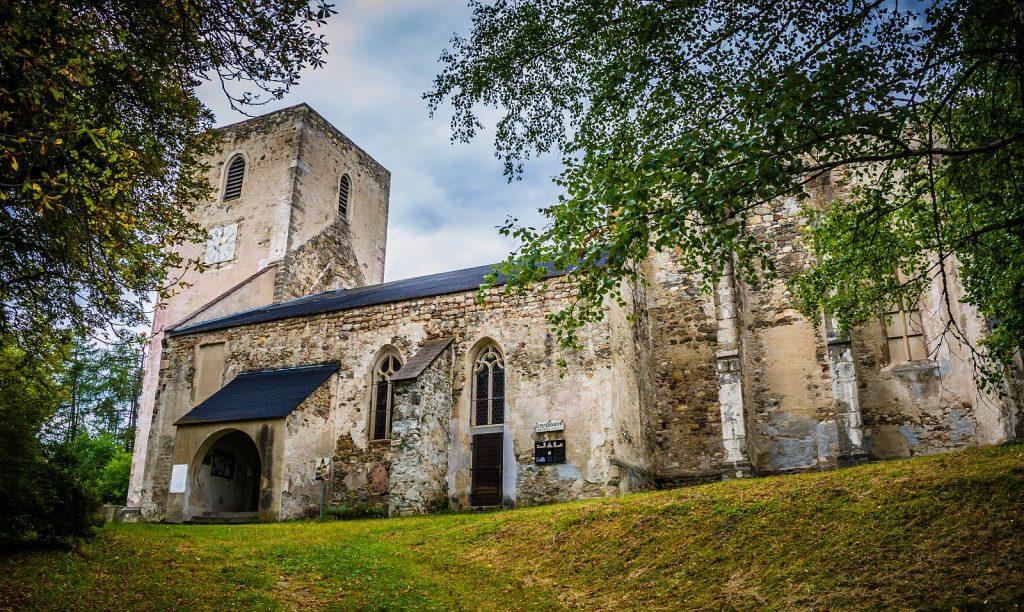 Die ehemalige Kirche von Döllersheim