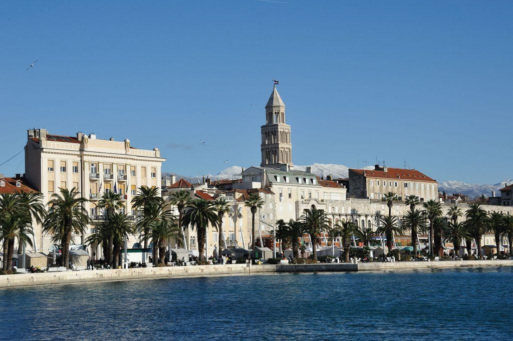 Die kroatische Stadt Split