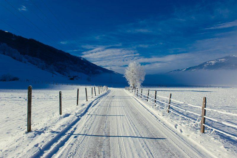 Winter im Pinzgau bei Zell am See