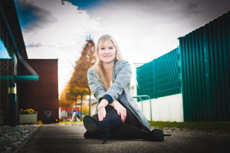 Fotoshooting mit Karola in Vorchdorf